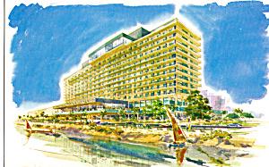 Nile Hilton Cario Egypt Postcard p25077 (Image1)