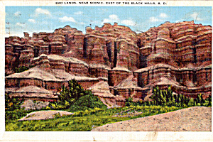 Bad Lands,Near Scenic, East of the Black Hills (Image1)