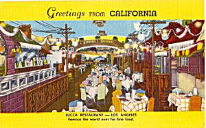 Lucca Restaurant Los Angeles CA    p25099 (Image1)