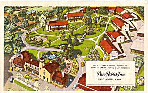 Paso Robles Inn Paso Robles CA Postcard p25100 (Image1)