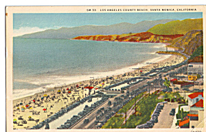 Los Angeles County Beach, Santa Monica, California (Image1)