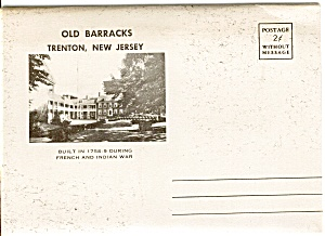 Souvenir Folder Old Barracks Trenton NJ (Image1)
