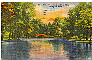 Rainbow Lake,Overton Park, Memphis, Tennessee (Image1)