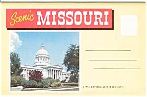 Souvenir Folder Scenic Missouri p2515 (Image1)
