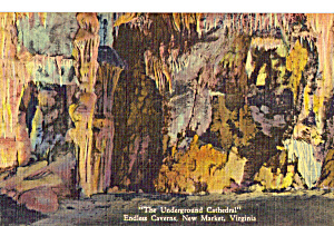 The Underground Cathedral Endless Caverns Virginia P25173