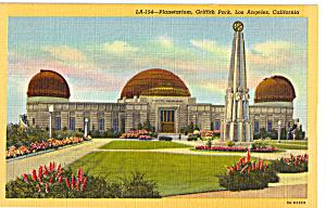 Planetarium Griffith Park Los Angeles CA p25179 (Image1)