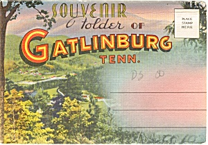 Souvenir Folder Gatlinburg Tn