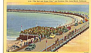 Spit Club and Rainbow Pier Long Beach California p25186 (Image1)