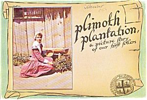 Souvenir Folder Plimoth Plantation MA (Image1)