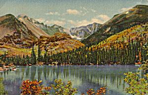 Bear Lake Glacier Gorge Rocky Mountain National Park CO p25191 (Image1)