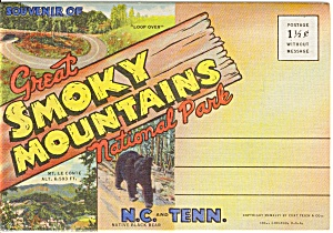 Souvenir Folder Smoky National National Park (Image1)