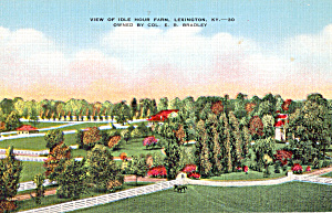 View of Idle Hour Farm, Lexington, Kentucky (Image1)