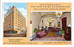 Hotel Hungerford Seattle Washington p25239 (Image1)