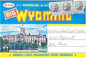 Souvenir Folder Big Wyoming