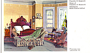 Bedroom of Franklin D Roosevelt (Image1)