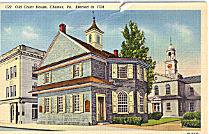 Old Court House, Chester, Pennsylvania (Image1)