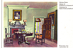 Dining Room Home  of Franklin D Roosevelt (Image1)