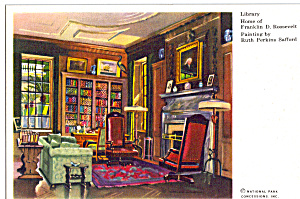 Library Home  of Franklin D Roosevelt (Image1)