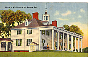 Home of Washington, Mt Vernon, Virginia (Image1)
