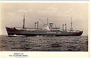 MS  Fujiharu Maru  Shinnihon Line p25276 (Image1)