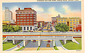 Underpass and Pine Street,Abilene, Texas (Image1)