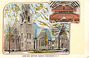 Lake Avenue Baptist Church Rochester New York p25291 (Image1)