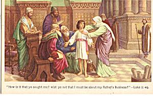 How is it that ye sought me   Luke 2:49 p25293 (Image1)