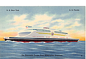 Newcastle Ferries SS New York SS Florida p25299 (Image1)
