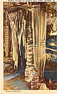 Double Column in Giant s Hall Luray Caverns p25307 (Image1)