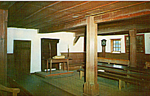 Historic Ephrata Cloister Seal Church Interior (Image1)