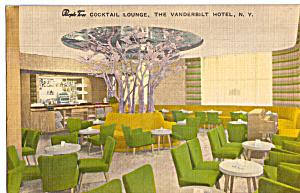 Interior of The Purple Tree Lounge Vanderbilt Hotel New York City p25391 (Image1)