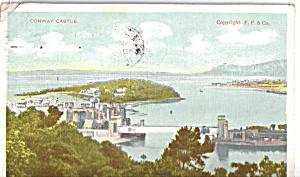 Conway Castle Wales Postcard p25464 (Image1)