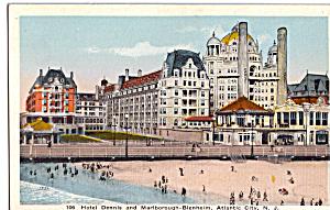 Hotel Dennis and Marlborough Blenheim Atlantic City NJ p25468 (Image1)