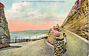 Drive way up on the Palisades,Santa Monica, California (Image1)