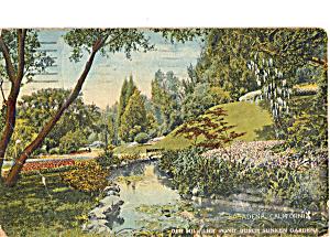 Old Mill Lilly Pond Busch Sunken Gardens Pasadena CA p25492 (Image1)