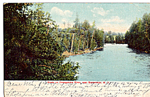 Scene on The Oswegatchie River Gouverneur New York p25499 (Image1)