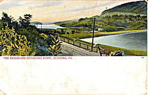 The Reservoir  Kittaning Point, Altoona, Pennsylvania (Image1)