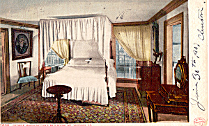 George Washington's Bedroom, Mt Vernon, Virginia (Image1)
