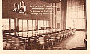Interior Trustees Room Administration Building Chicago Fair p25534 (Image1)