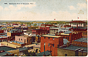 Panoramic View of Cheyenne Wyoming (Image1)