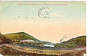 Horse Shoe Curve on the Pennsylvania Railroad p25613 (Image1)
