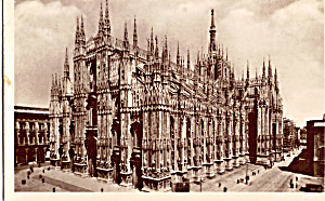 Milan Italy The Cathedral P25624