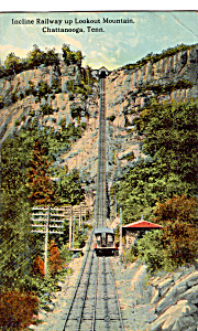 Incline Railway up Lookout Mountain Chattanooga p25643 (Image1)