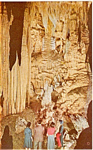 Luray Caverns Va Helen S Shawl Postcard P2564