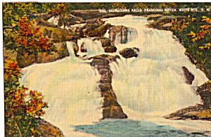 Georgianna Falls Franconia Notch Nh Postcard P25663