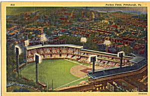 Forbes Field Pittsburgh Pennsylvania P25686