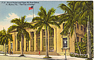 Open Air Post Office Ft Myers Florida P25709