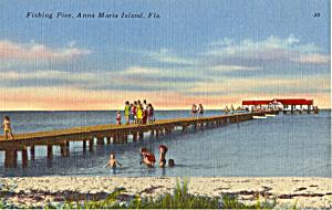 Fishing Pier Anna Marie island Florida p25718 (Image1)