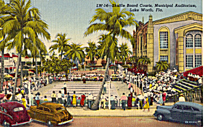 Shuffle Board Courts Lake Worth Florida p25724 (Image1)