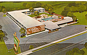 Holiday Inn Marianna Florida Postcard P25729
